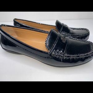 Coach Women's 'Odette' Leather Loafers (Sz-7.5)